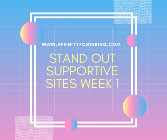 Stand Out supportive sites this week - Starting 23rd March 2020