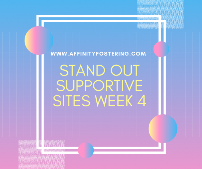 Stand out supportive sites this week - Starting 13th April 2020