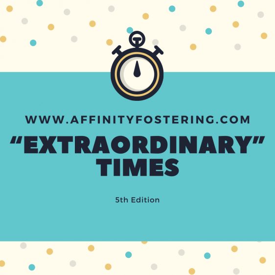 "AFFINITY ""EXTRAORDINARY"" TIMES 5th Edition"