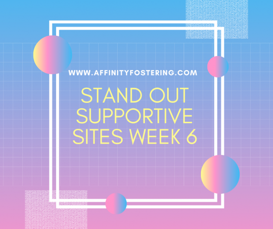 Stand Out sites this week - Week Starting 27th April 2020